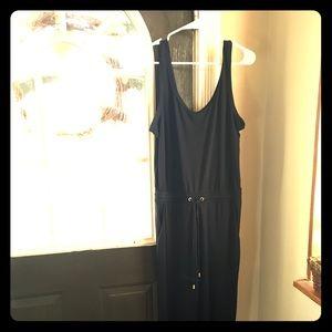 Size 14 h&m navy jumper casual dressy jumpsuit